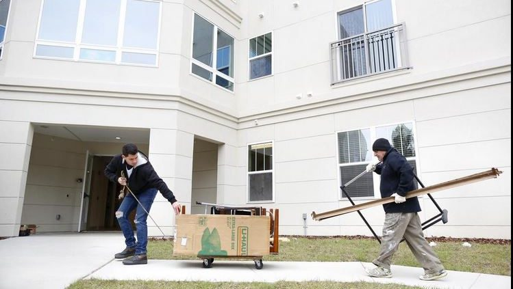 Arbours move-in